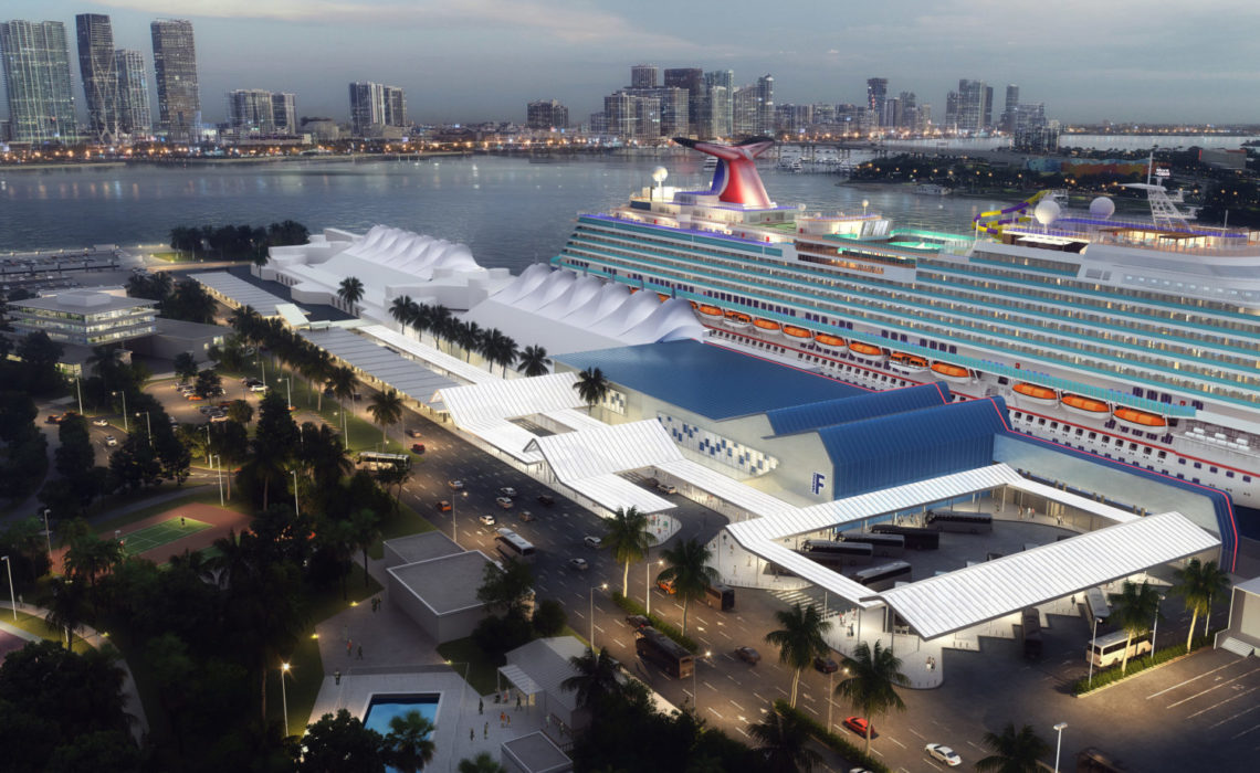 Carnival Cruise Line - Terminal F expansion